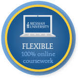 messiah university has flexible options with 100% online coursework